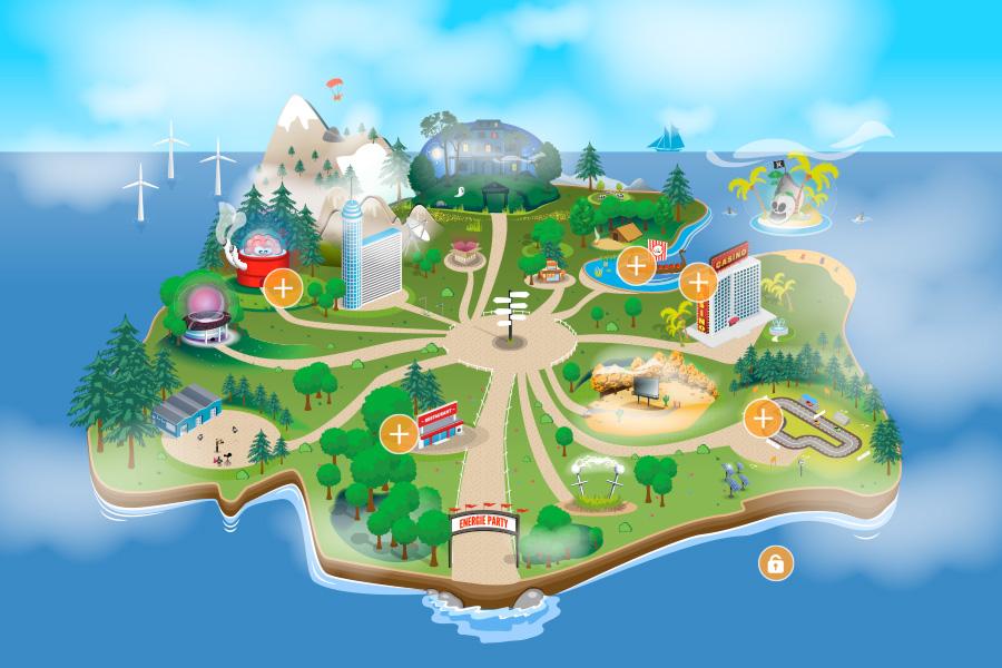 Parc d'attraction thématique - Sélécteur d'OP - GDF SUEZ DOLCEVITA